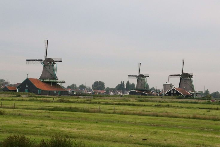 #countryside #dutch #green #holland #netherlands #traditional #wind #wind mills #zaanse schans