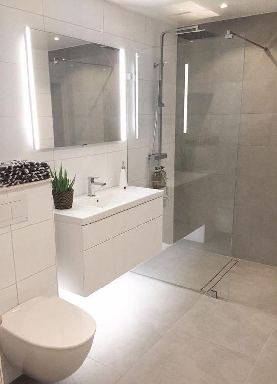 18 schöne halbe Badezimmer Ideen, um Sie zu inspirieren