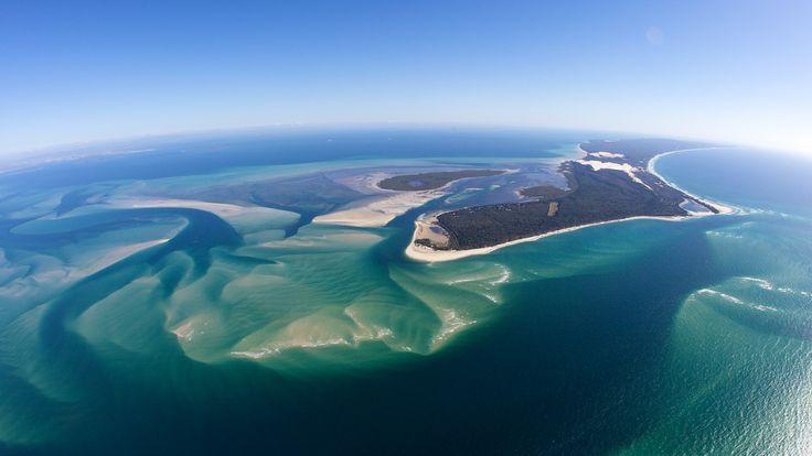 Bribie Island aerial | Flickr - Photo Sharing! by Visit Brisbane