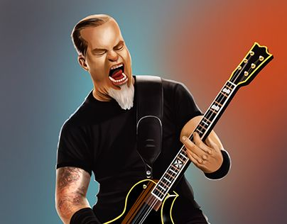 "Check out new work on my @Behance portfolio: ""metallica fan art"" http://be.net/gallery/41143367/metallica-fan-art"