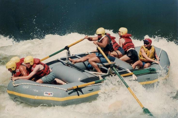 White Water Rafting in the Zambezi Rapids