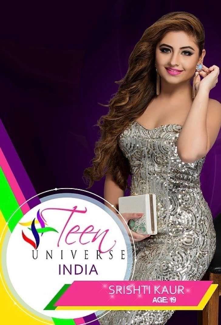 Esta exótica adolescente india ganadora de la nueva Miss Teen Universe deslumbró con su belleza