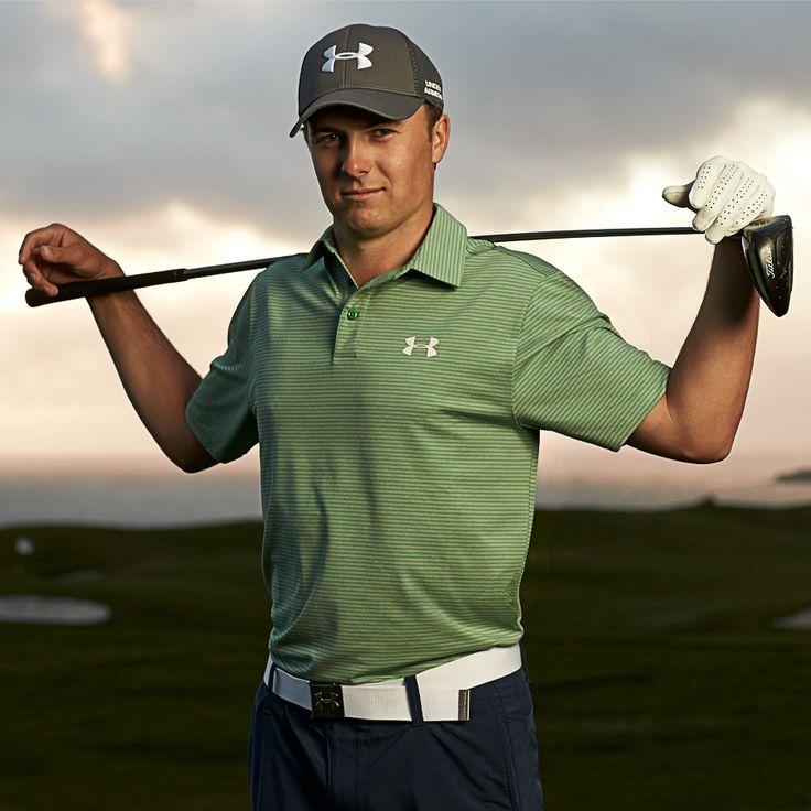 UA Golf - Jordan Spieth. When the world is watching … every advantage matters.