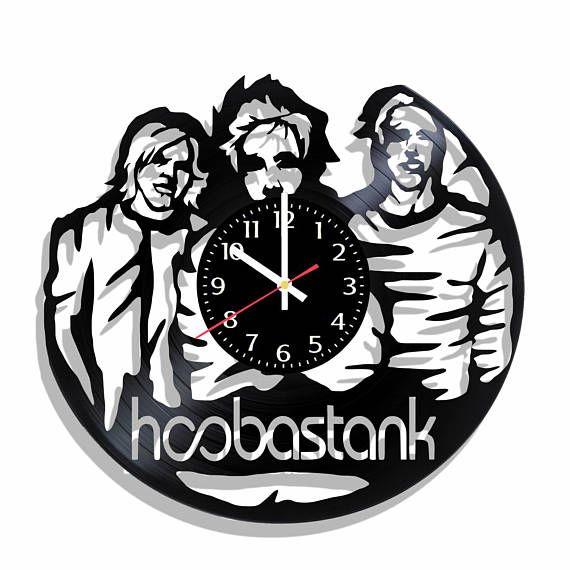 Hoobastank rock band wall clock Hoobastank wall poster