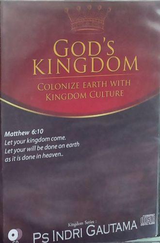 [Audio CD] God's Kingdom: Colonize the Earth with Kingdom's Culture  #IndriGautama #Christian #Kingdom #Culture