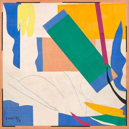 4-Henri Matisse (French, 1869–1954). Memory of Oceania. Nice-Cimiez, Hôtel Régina, summer 1952–early 1953.