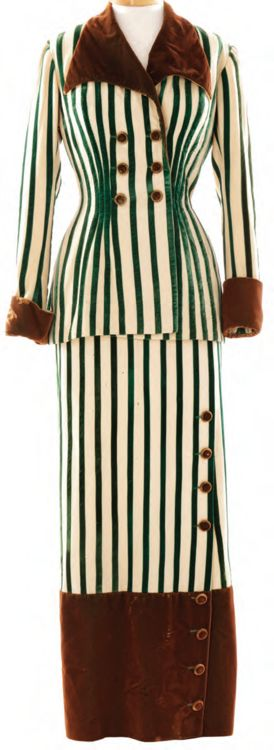 """Costume designed by Mary K. Dodson for Lucille Ball in the 1950 movie """"Fancy Pants""""."""