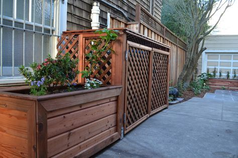 1000 Ideas About Garbage Can Shed On Pinterest Garbage
