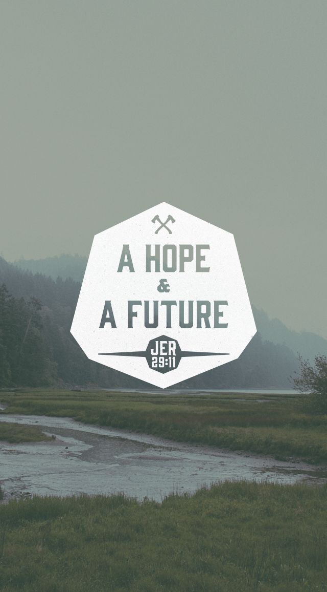 We think this means our own plans in life but it was really Jesus Christ as our hope and future! OHHHH so GOOD!