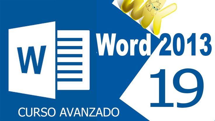 Microsoft Word 2013, Encabezados y pie de pagina avanzado, Curso avanzad...