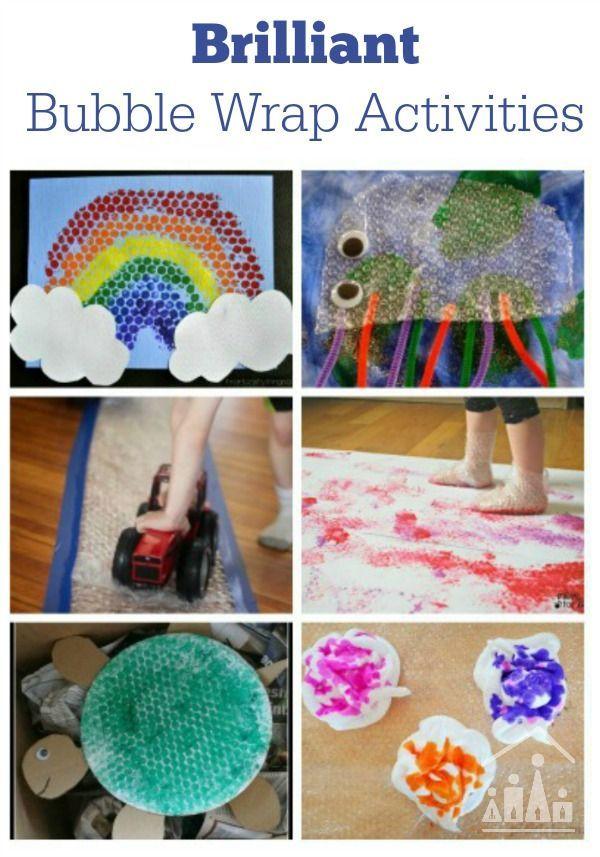 Brilliant Bubble Wrap Crafts For Kids Activities Kid