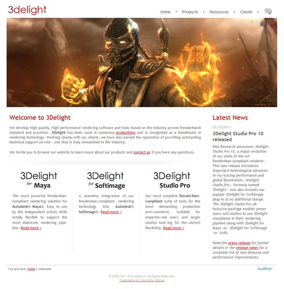 3Delight Website