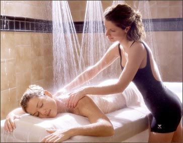 if you ever get a chance to do this DO IT, woodhouse day spa offers it! Body treatment with vichy shower *****