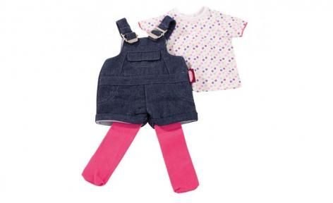 Wardrobe Dungaree shorts T Shirt and leggings by Gotz