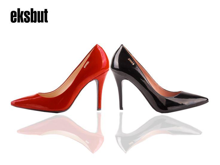 Niezastąpiona klasyka.  #eksbut #eksbutystyle #shoes #boots #fashion #red #black #fashion #fashionstyle #women #highheels #heels #szpilki #polskamarka
