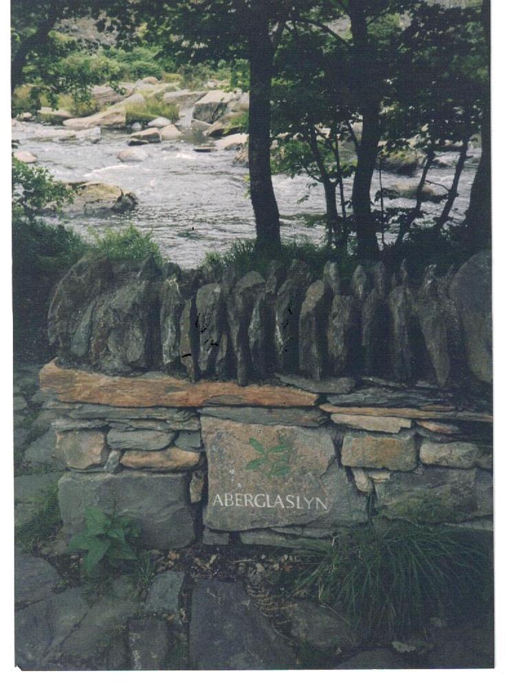 Aberglaslyn, Wales  - June 1999