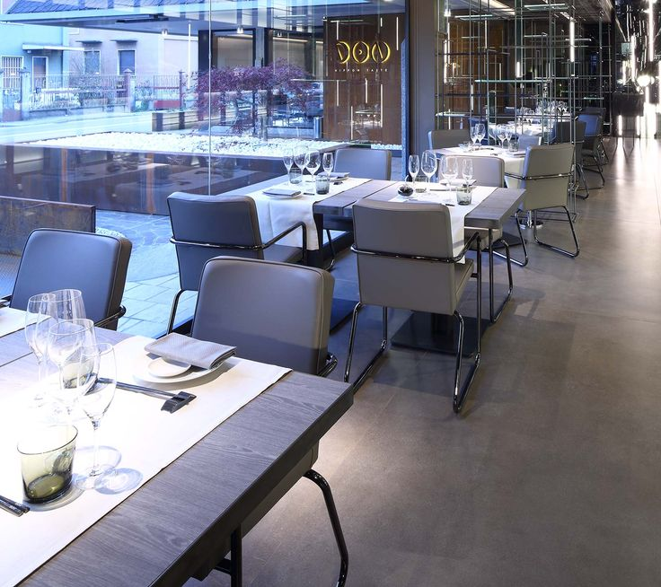 In the heart of Lissone, in the province of Monza and Brianza, the Don Nippon Taste is a warm and welcoming Japanese restaurant. #restaurant #milan #floorgres #floor #project #interiordesign