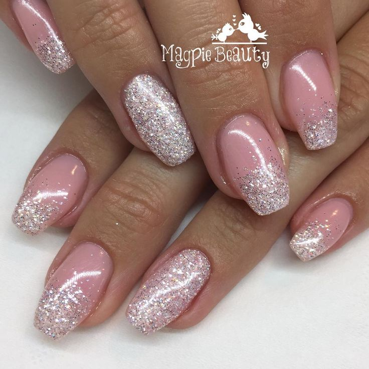 So elegant Magpie Glitter ANGEL sprinkled over a neutral base #magpieangel #magpieglitter #magpiebeauty