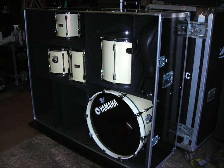 Drum Road Cases for Sale | Yamaha Recording Custom Drum case - fatproduction