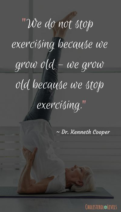 exercise is important to do at all stages in your life. It keeps you fit and hea...