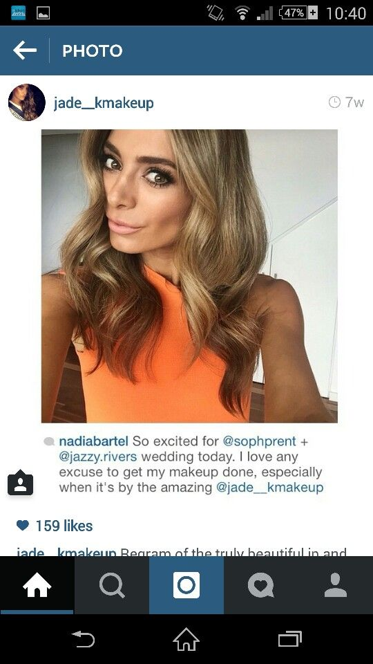 Love Nadia bartels hair colour! And just her in general