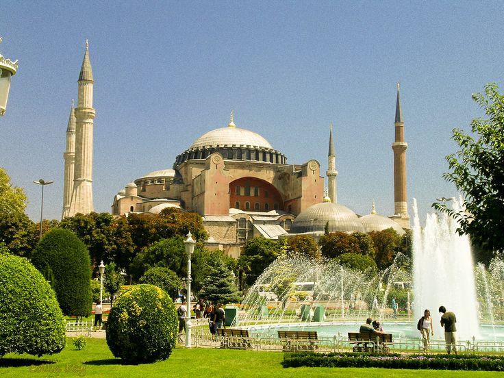 CATEDRALES DEL MUNDO | TURQUIA - Catedral SANTA SOFIA | Catedral de Santa Sofía en Estambul - curiosidades