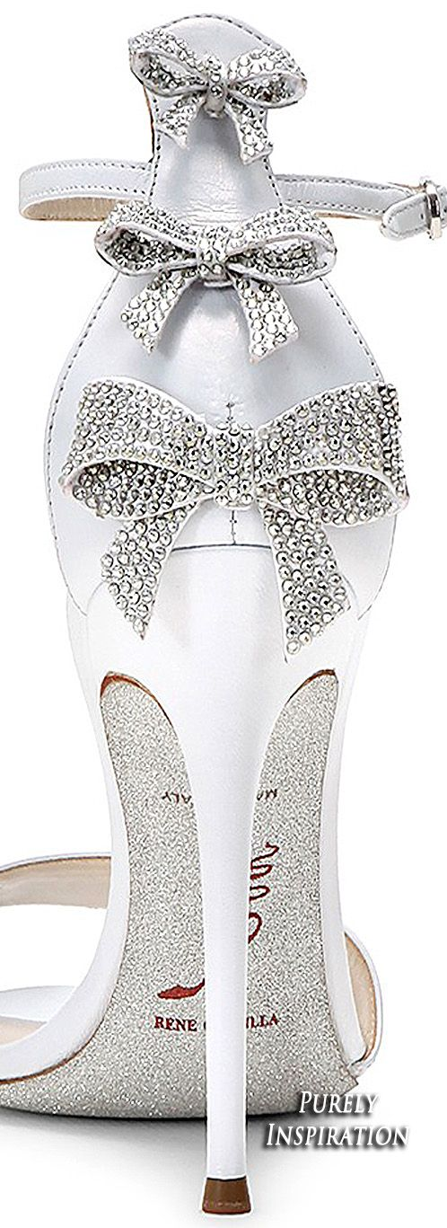 Rene Caovilla Diamante Sandal   Purely Inspiration, if i get married again!!! https://tmblr.co/ZRlNZd2NbZSTt