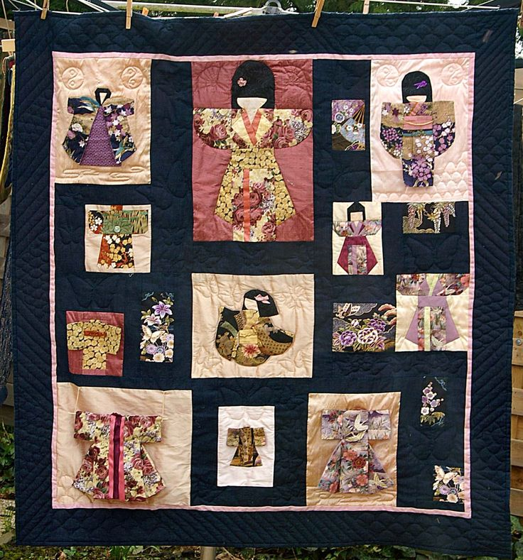 288 Best Oriental Quilts Images On Pinterest Asian Quilts Easy