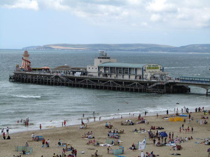 Bournemouth Pier, Bournemouth. UK 2010