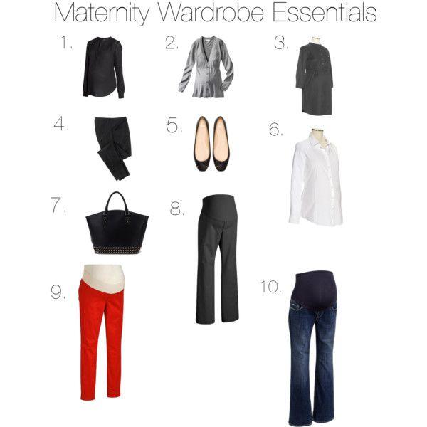 Maternity Wardrobe Essentials - Polyvore