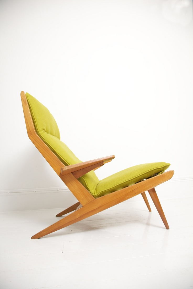 Rob Parry; Beechwood Lounge Chair for Gelderland, 1950s.