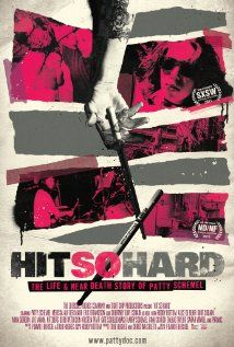 HIT SO HARD - documentary about Patty Schemel and her time in Hole, her addictions and getting clean. enjoyed it.