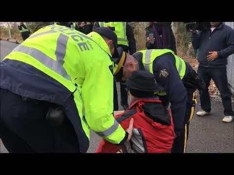Kinder Morgan Westridge Marine Terminal Activist Arrest