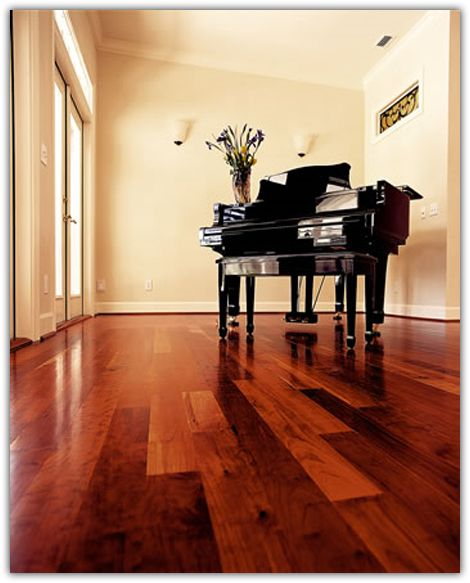 beautiful cherry wood floors in the kitchen, hallways and dining room.
