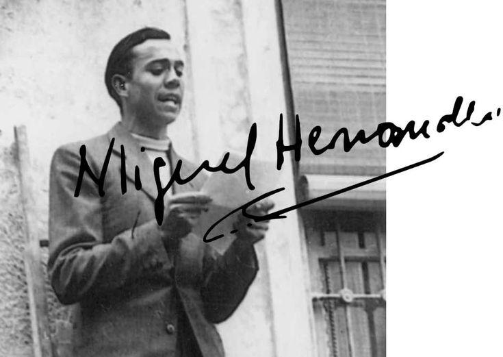 Miguel Hernández (1910 - 1942), poeta español de la Generación del 27