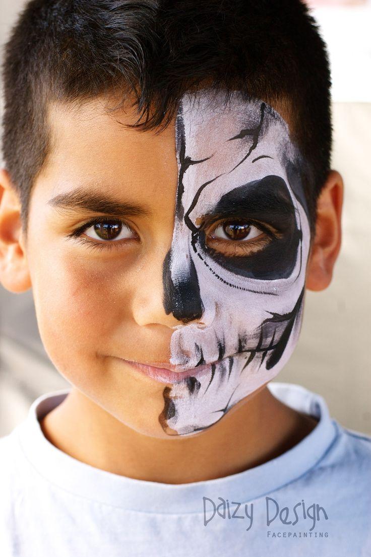 Best 25+ Halloween Face Paintings Ideas On Pinterest