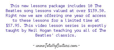Learn to play guitar online - www.TotallyGuitars.com - Discover why Totally Guitars is called the very best online resource for guitar players looking to learn and expand their song list.