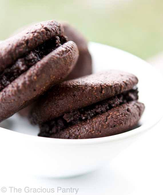 "Ashy Bines - Clean Eating ""Oreo"" Cookies Thank you to ""The Gracious Pantry"" for this amazing recipe!!"