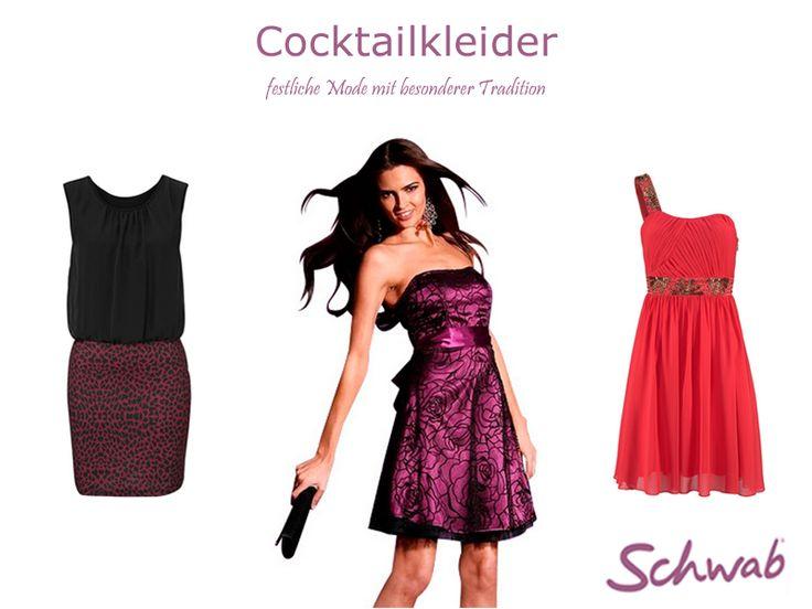Festliche #Cocktailkleider sind auch im Alltag tolle Begleiter!