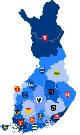 Luettelo Suomen maakuntien nimikkolajeista – Wikipedia