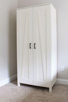 IKEA Hack: Aneboda Wardrobe