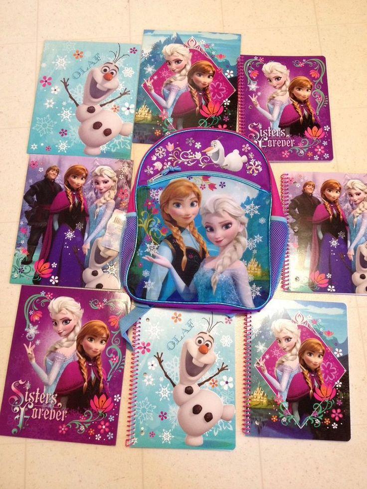 Disney School Folders