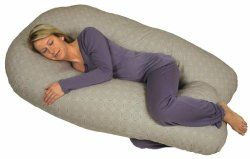 Full body sleep pillows to help back and sciatic pain