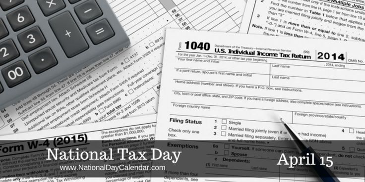 Federal income tax filing deadline is fast approaching - Need an eraser? #NationalTaxDay