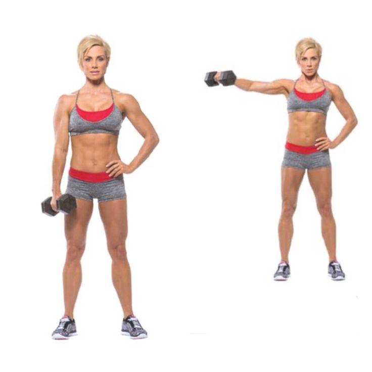Упражнения для мышц рук. Как убрать жир с рук в домашних условиях