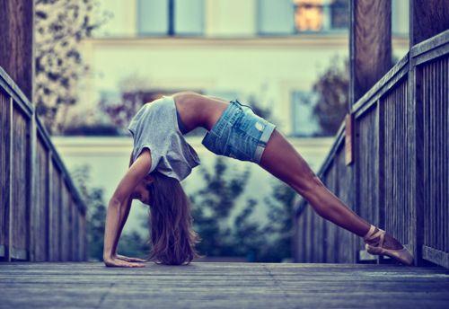 dance muscles.