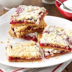 Cherry Crumb Dessert Recipe from Taste of Home -- shared by Ann Eastman of Greenville, California