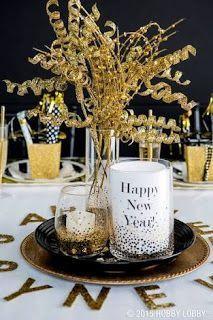 O luxo do dourado no Ano Novo!
