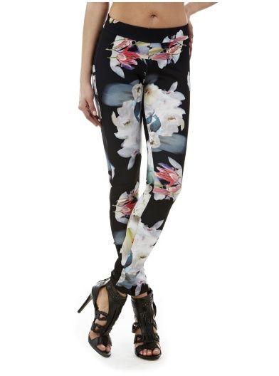 Leggings Blooming Flower Pant