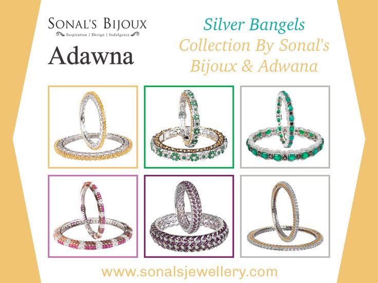 Top 4 Reasons You Should Buy Silver Bangles Online  No matter whether you are a college student or a mother of two kids; you can go for silver bangles online shopping anytime you want.  #jewellery #Fashion #Bangles
